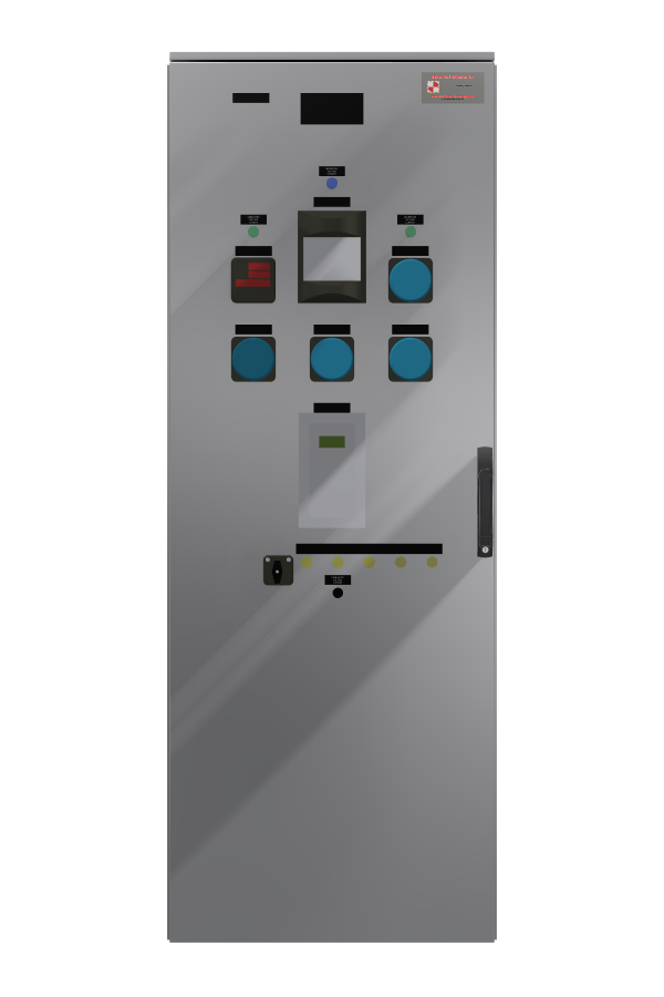 Synchronous Motor Excitation Panel2