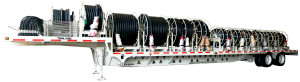 distribution cable trailer