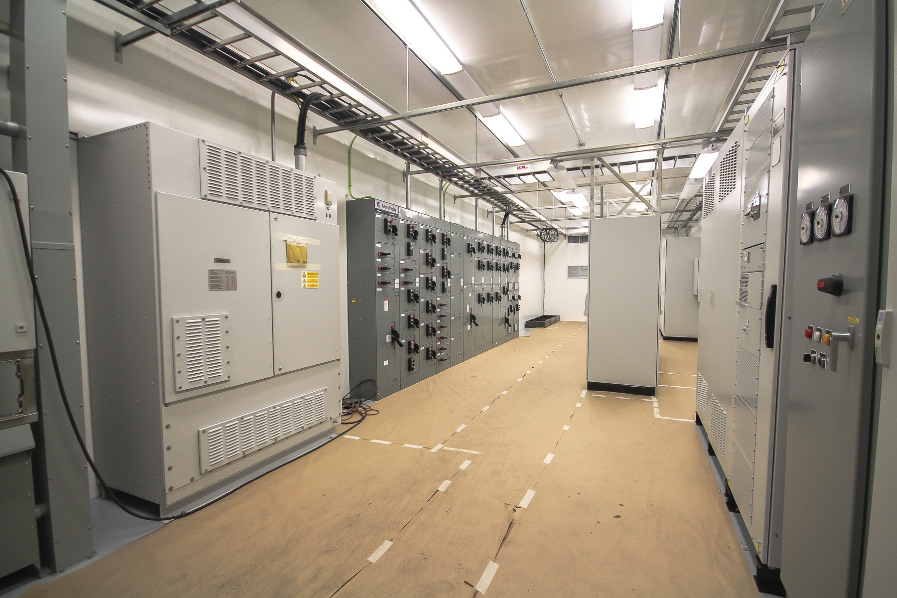 Electrical Equipment Rooms And Data Centers